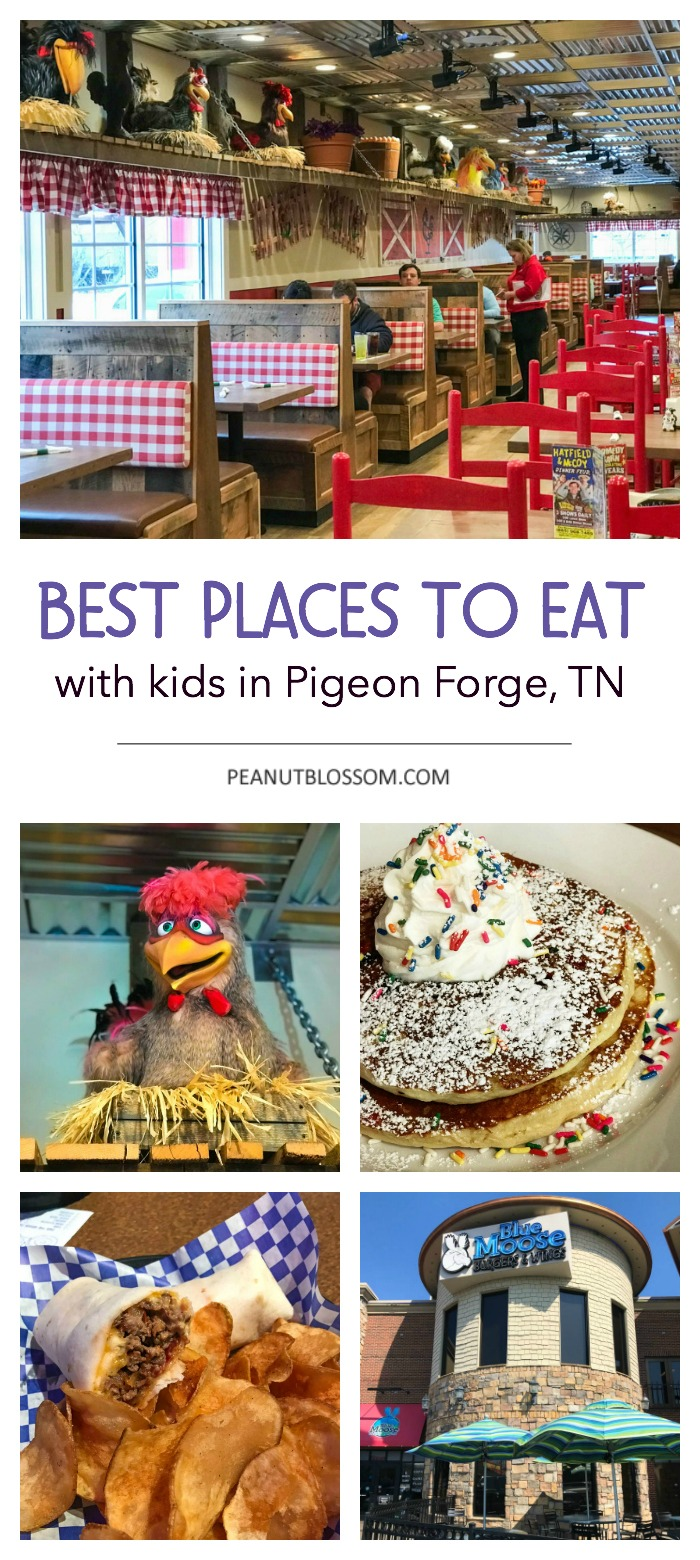 Best places to eat in Pigeon Forge, TN with kids