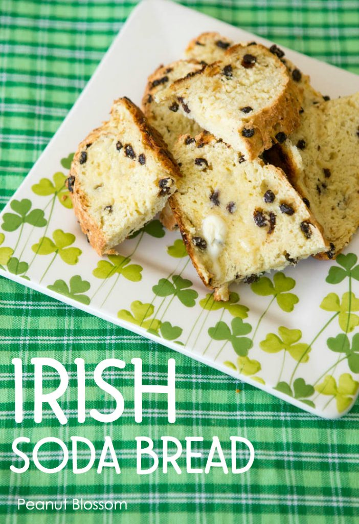 Irish Soda Bread for St. Patrick's Day dinner