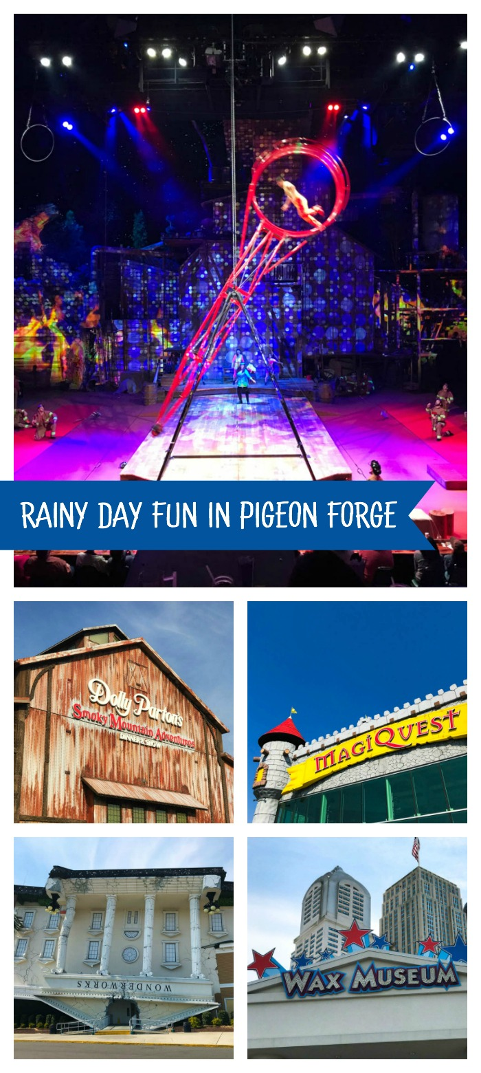 Indoor activities at Pigeon Forge, TN