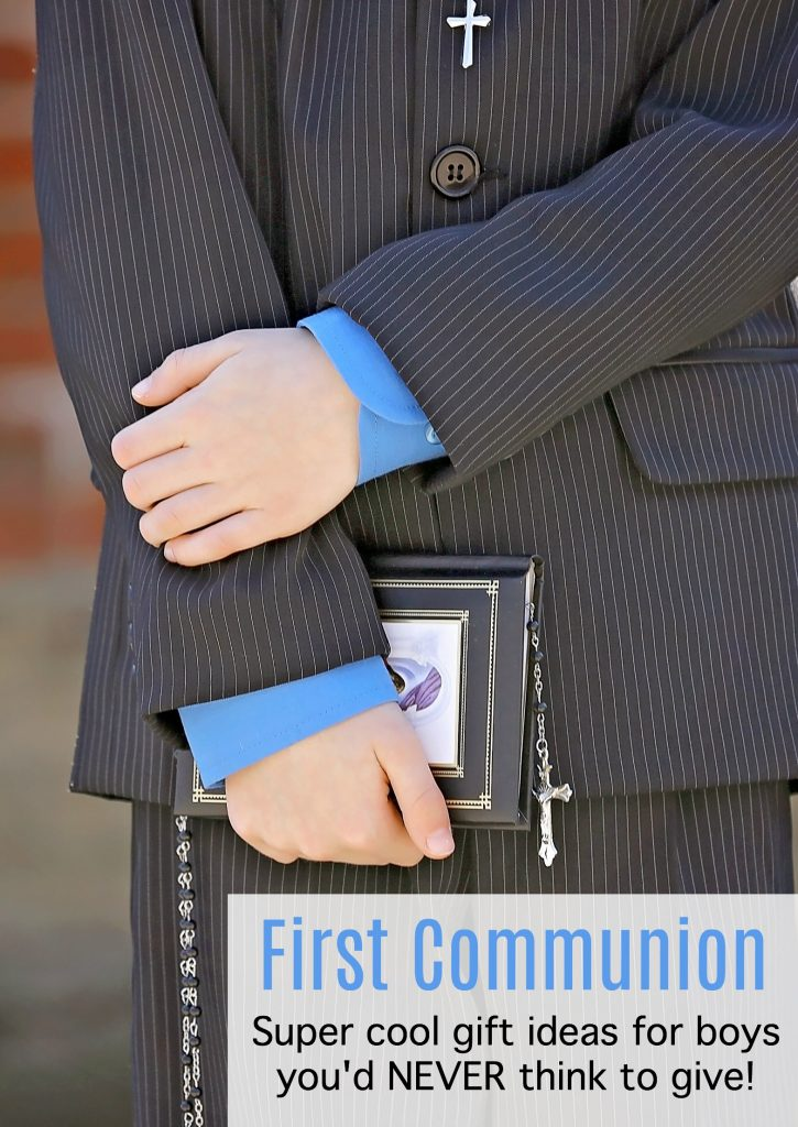First Communion gifts for boys: Super cool ideas you'd never think to give.