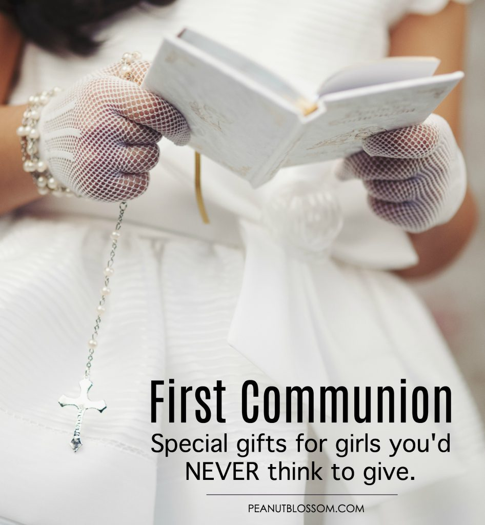 First Communion gifts for girls: Awesome ideas you'd never think to give.
