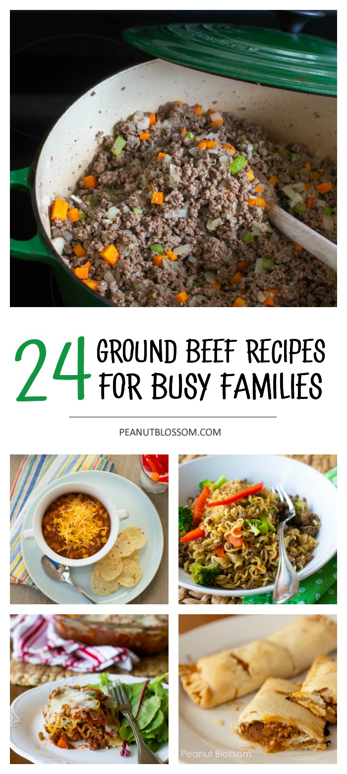 24 ground beef recipes for busy families