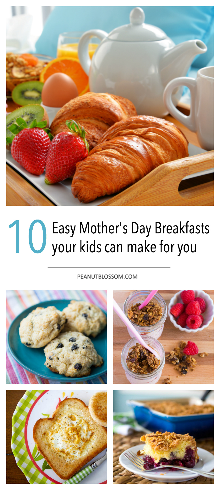 10 Mother's day breakfast ideas your kids can make that you will actually eat