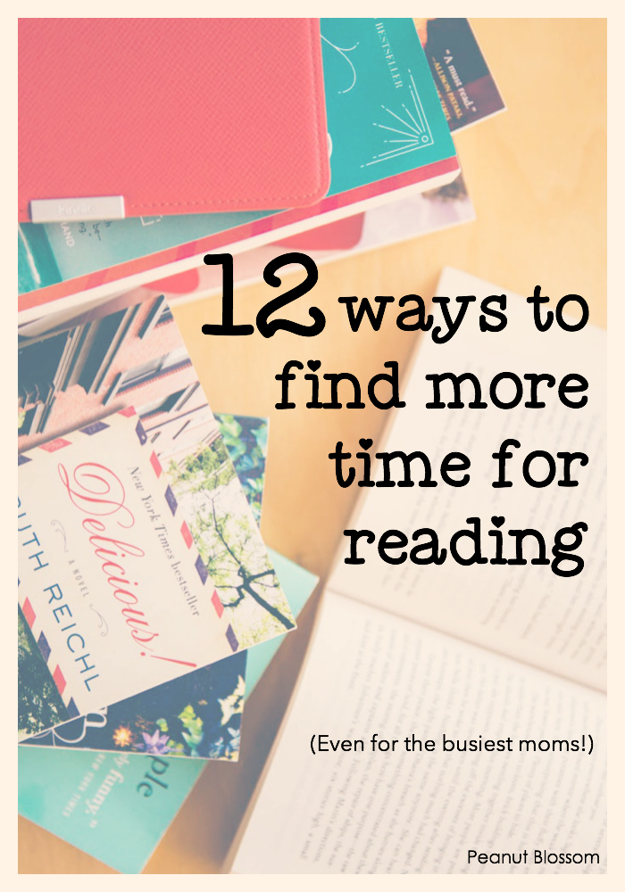 How to read more books: 12 ways to find more time for reading in your busy day.