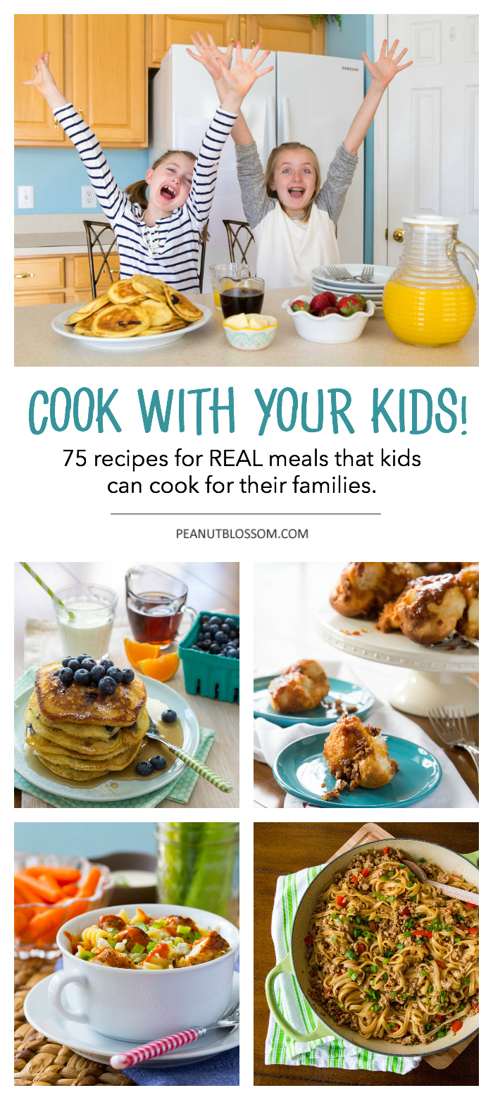 The Ultimate Kids' Cookbook cover reveal and sneak peek!