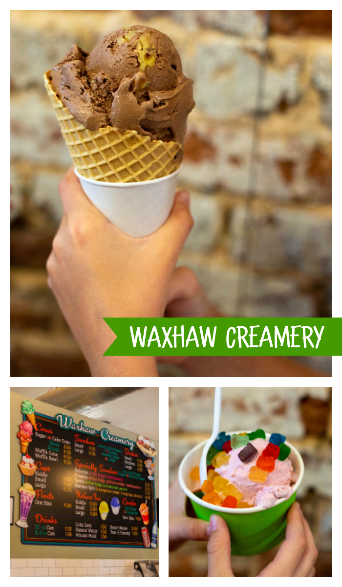 The best ice cream in Charlotte NC: Waxhaw Creamery