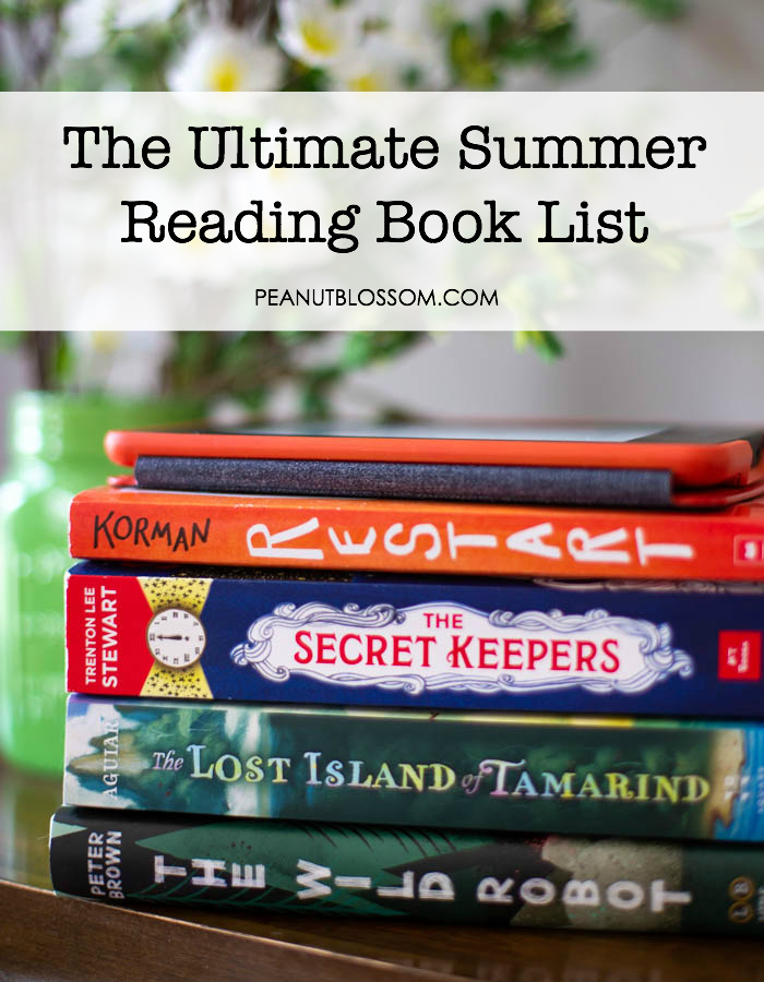 The Ultimate Summer Reading Book List