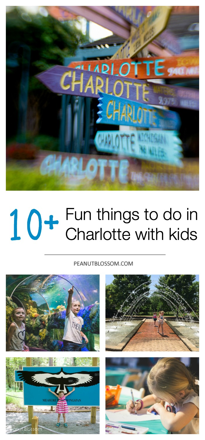 10 fun things to do in Charlotte with kids!