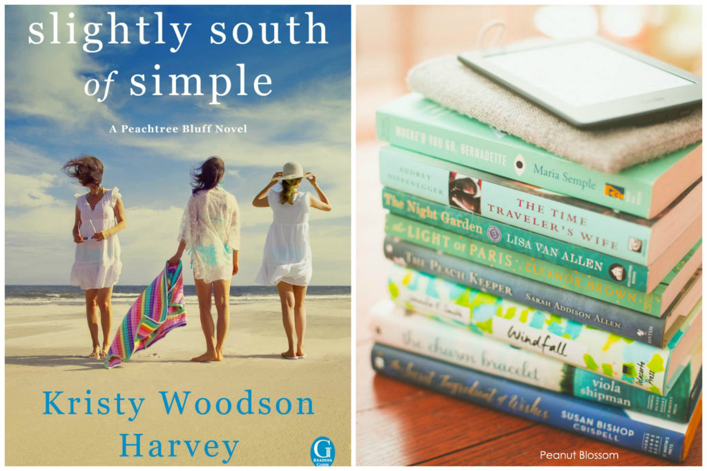 Slightly South of Simple by Kristy Woodson Harvey: The August pick for the Peanut Blossom Book Club