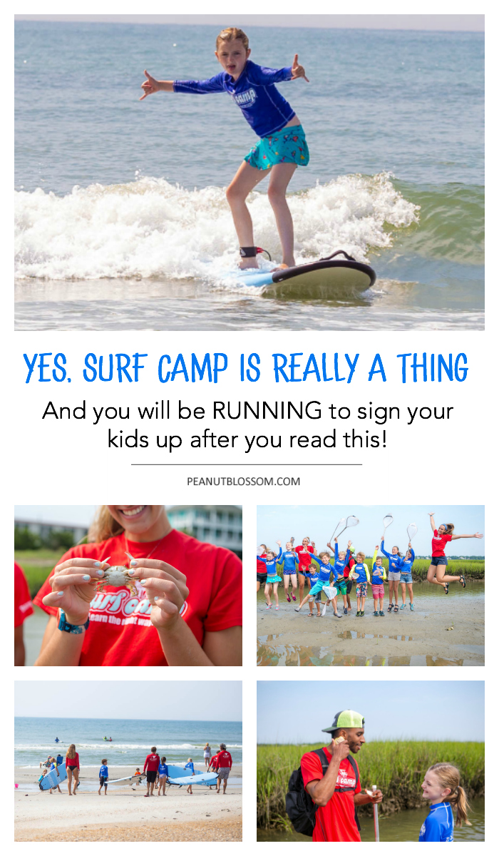 Yes, surf camp is really a thing and you will run to sign your kids up after you read this.