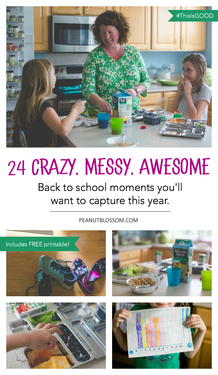 24 crazy, messy, awesome, kids back to school moments every mom understands