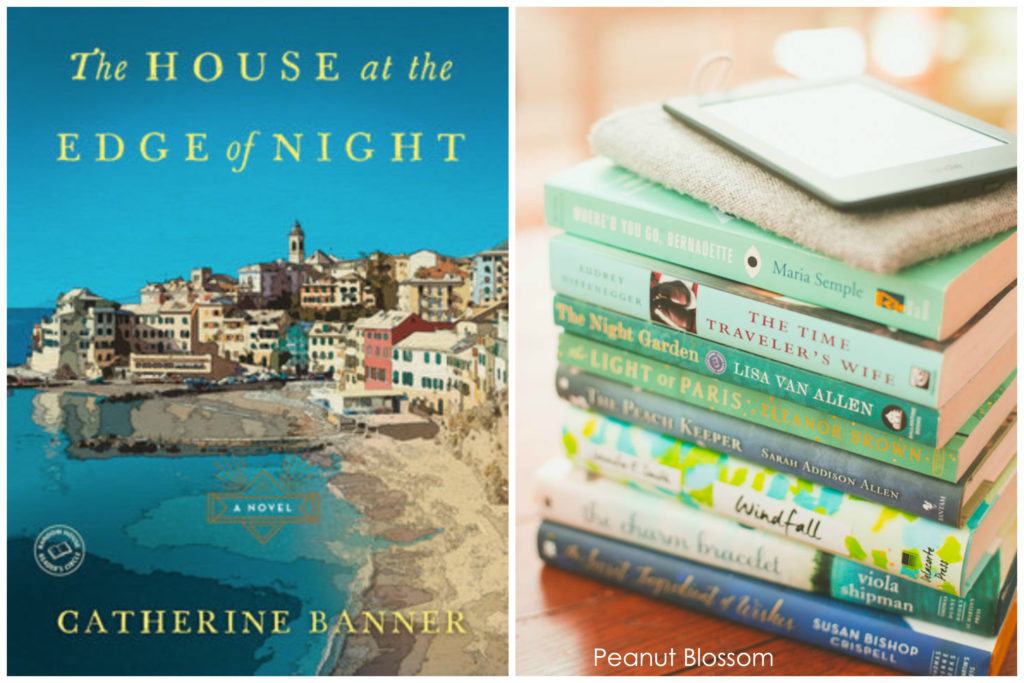 The House at the Edge of Night is the September pick for the Peanut Blossom Book Club for Recovering Readers.