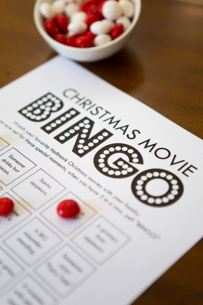 Hallmark Christmas Movie Bingo is a great way to enjoy Christmas movies as a family this year.