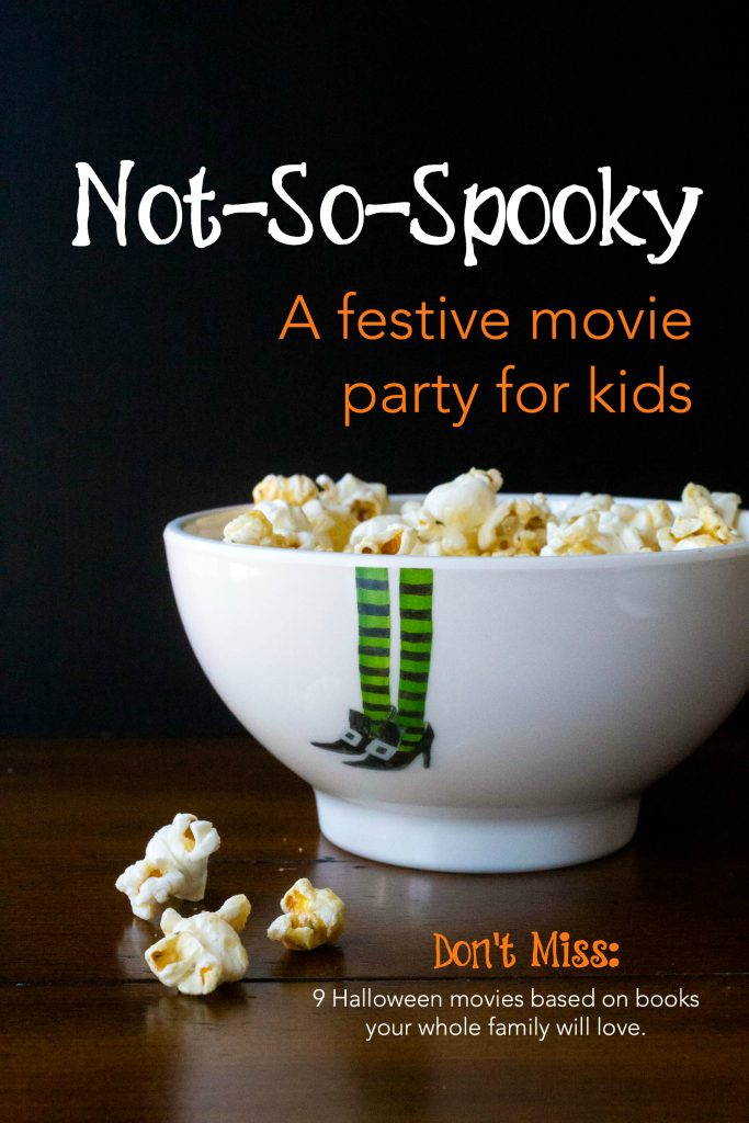 Not so spooky Halloween snacks and movies for kids!