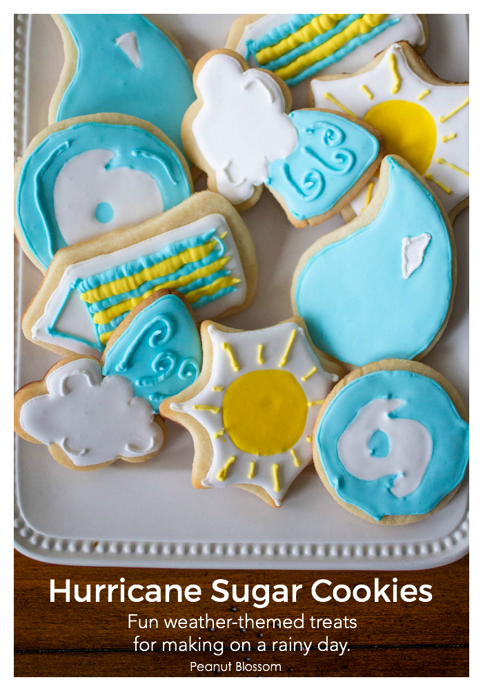 Hurricane Cookies: Fun weather-themed treats for rainy day baking with kids.
