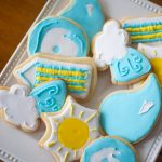 These adorable hurricane cookies are perfect for a rainy day