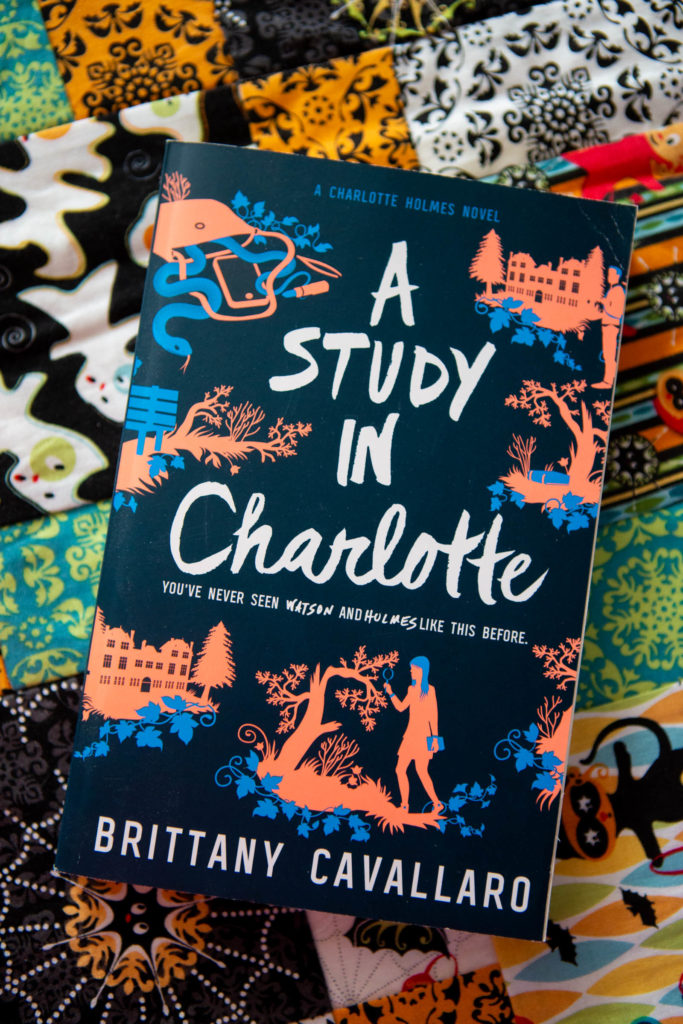 A Study in Charlotte by Brittany Cavallaro: The October pick for the Peanut Blossom Book Club for Recovering Readers