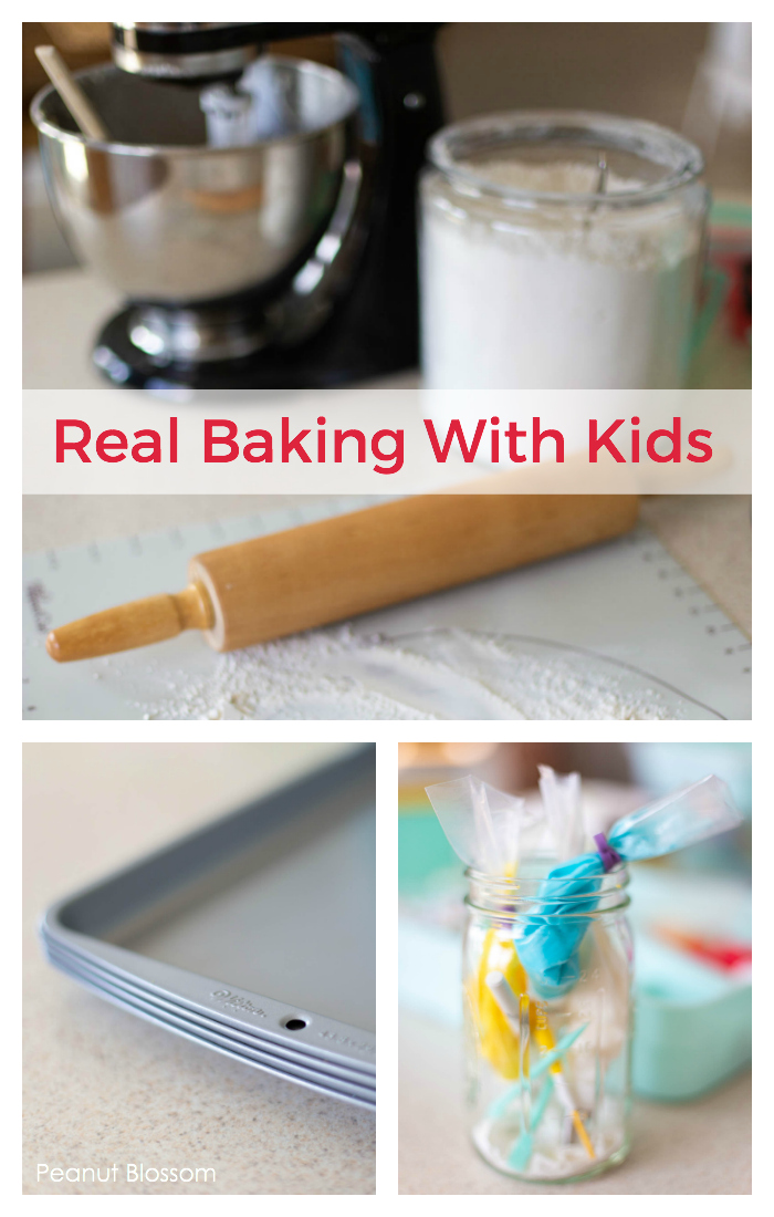 How to bake REAL sugar cookies with kids without losing your sanity