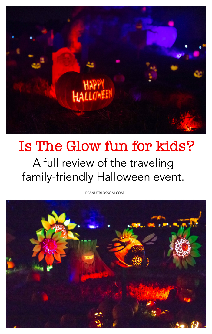 The Glow Charlotte: a traveling Halloween event with 5,000 real jack-o-lanterns.