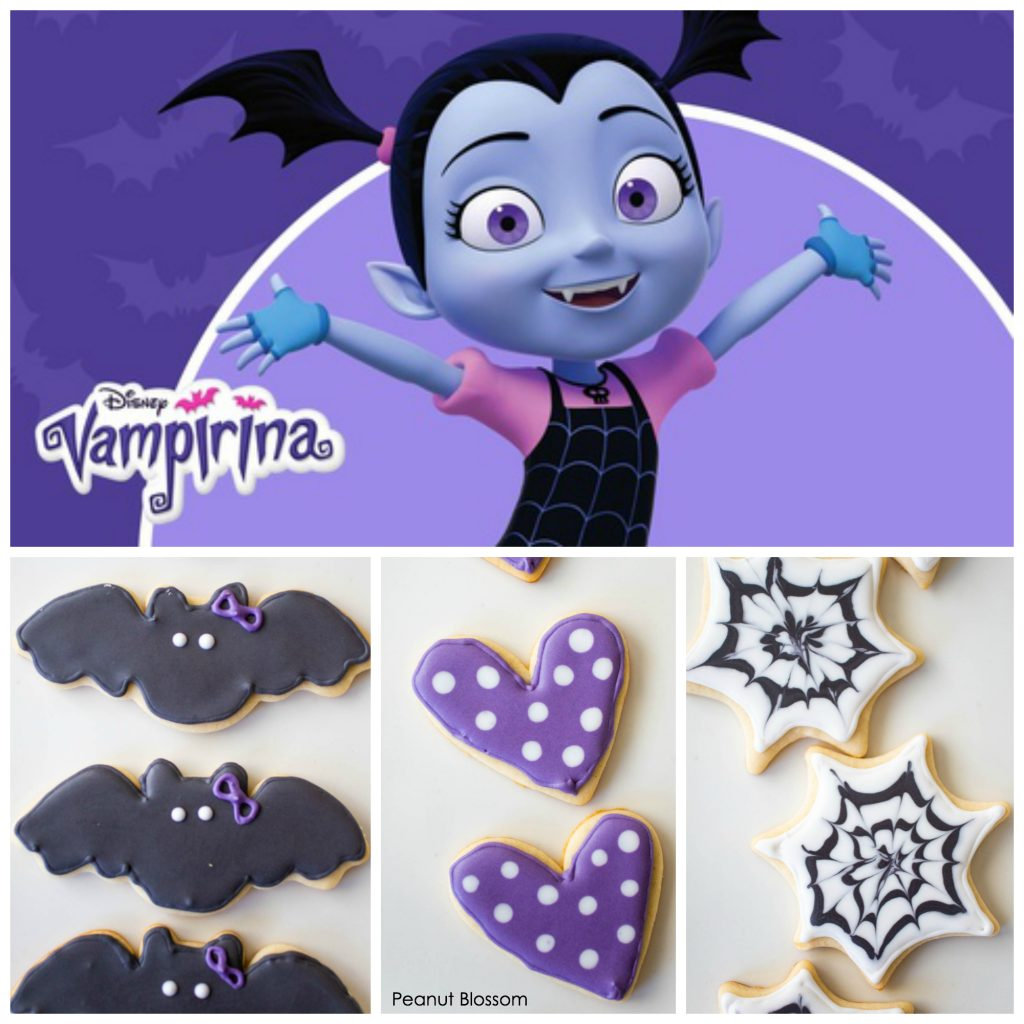 Sweet & Spooky: adorable Vampirina sugar cookies for Halloween