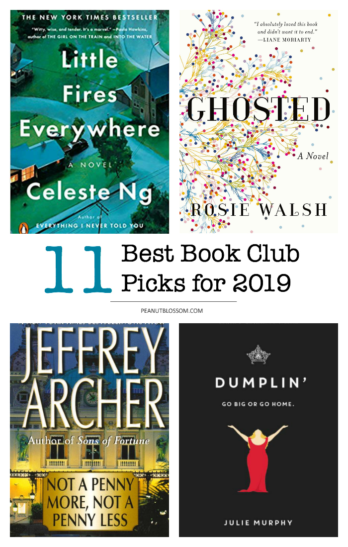 Peanut Blossom Book Club picks for 2019: The best online book club book picks