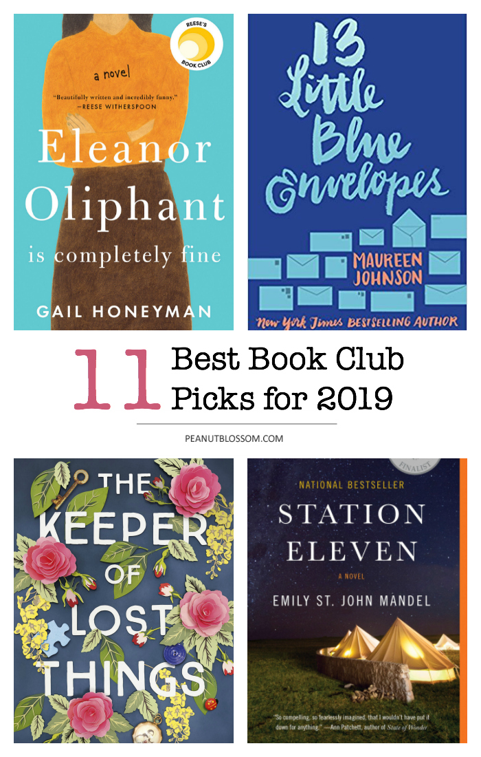 Peanut Blossom Book Club picks for 2019: Join the best online book club ever!
