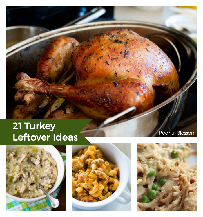 21 turkey leftover ideas for the Day after Thanksgiving