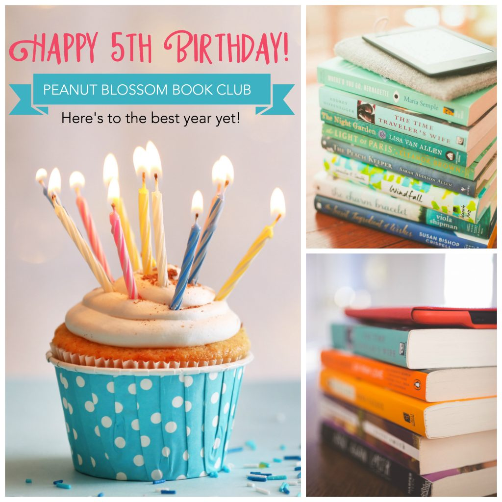 Happy birthday to the Peanut Blossom Book Club: Join us with the best book club picks for 2019