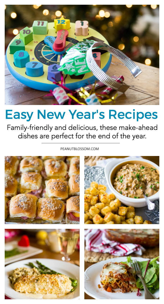 Easy New Year's Recipes for families