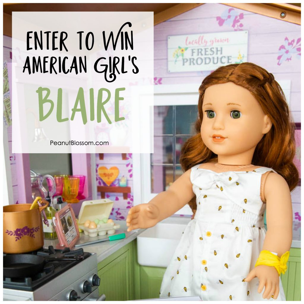 Enter to win American Girl doll of the year Blaire Wilson