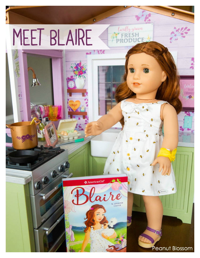 Meet Blaire: a review of the American Girl Doll of the Year