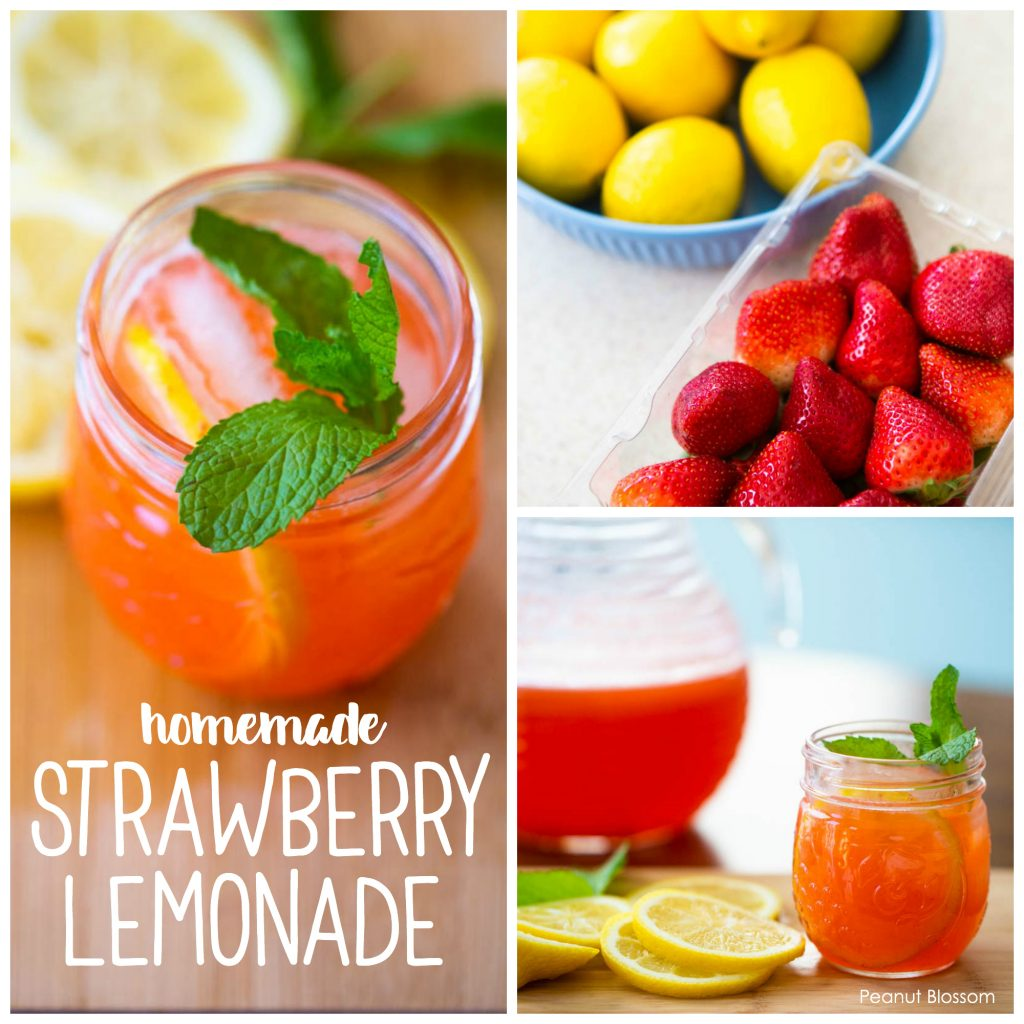 How to make strawberry lemonade recipe for kids
