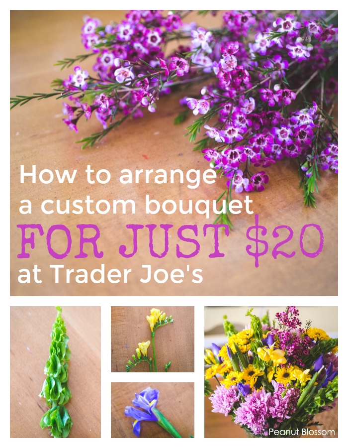 How to arrange Trader Joe's flowers to look like a custom flower boutique arrangement