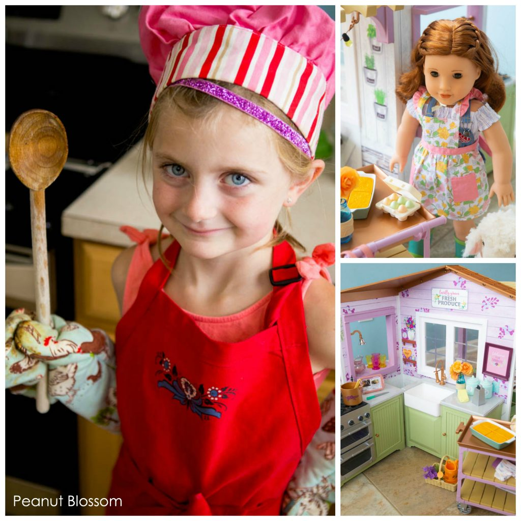 The American Girl doll of the year Blaire Wilson is a chef-in-training and the perfect way to encourage kid chefs.