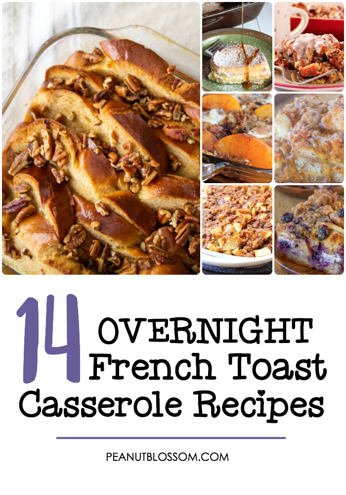 14 overnight French toast bake recipes