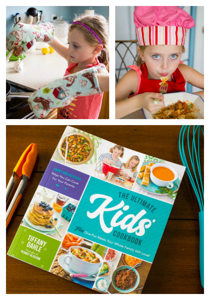 The Ultimate Kids' Cookbook: a great way to encourage young chefs.