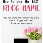 How to give your blog the best name ever