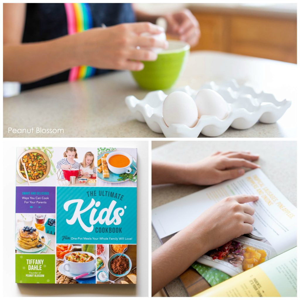 The Ultimate Kids' Cookbook: a perfect kids cookbook for hosting your own DIY kids cooking classes.