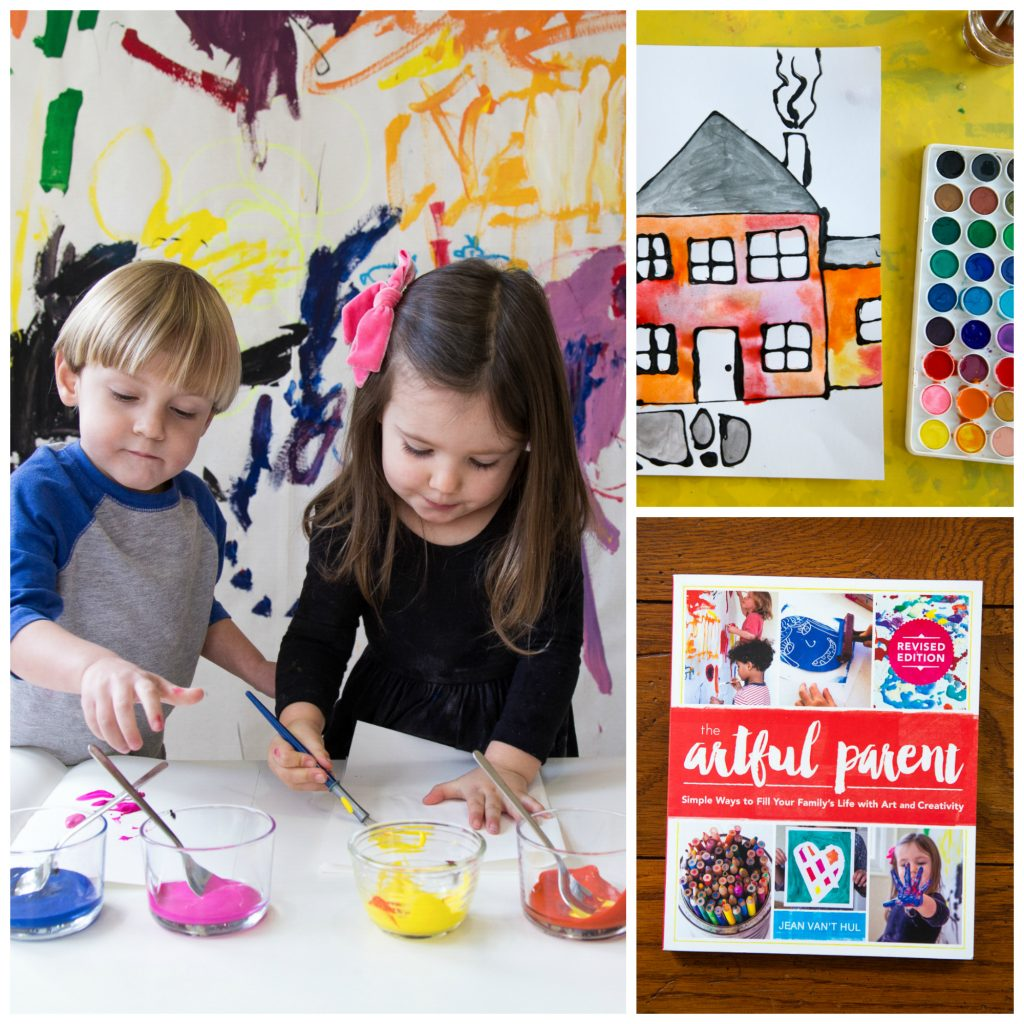 Host your own art classes for kids this summer with an awesome DIY art camp right at home!