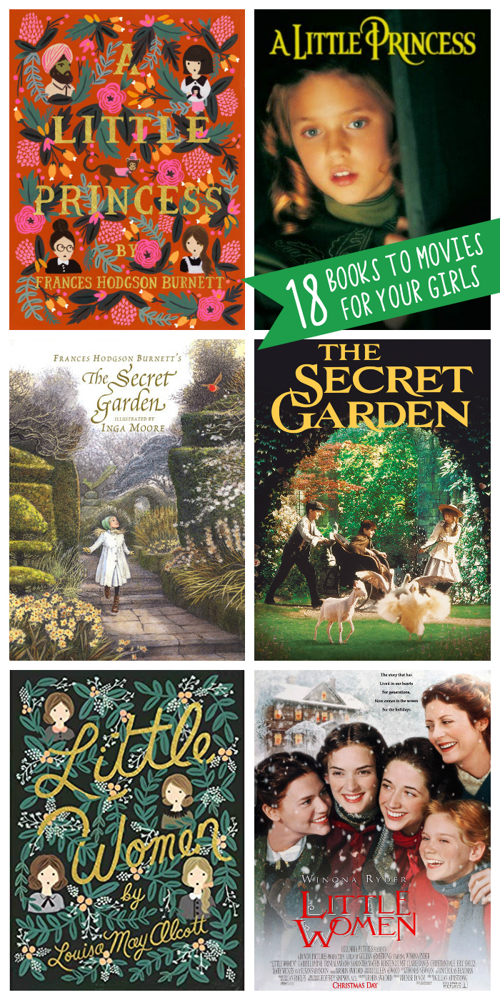 18 fantastic books to movies to share with your girls before they turn 18