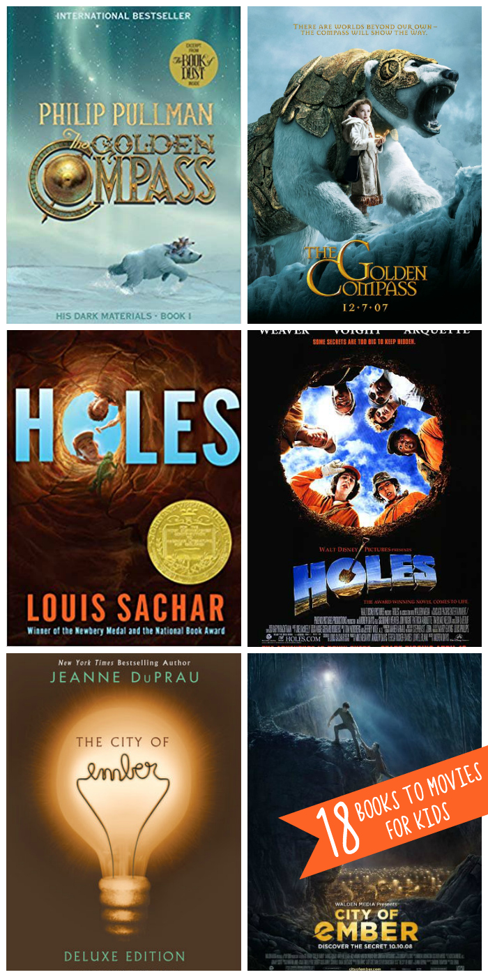 18 books to movies to share with your kids before they turn 18