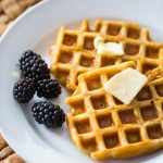 Easy buttermilk waffles that make busy days better