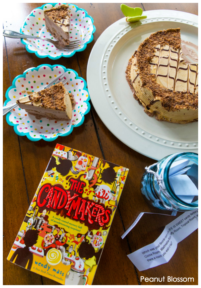 The Candymakers by Wendy Mass is the perfect children's book club party idea.