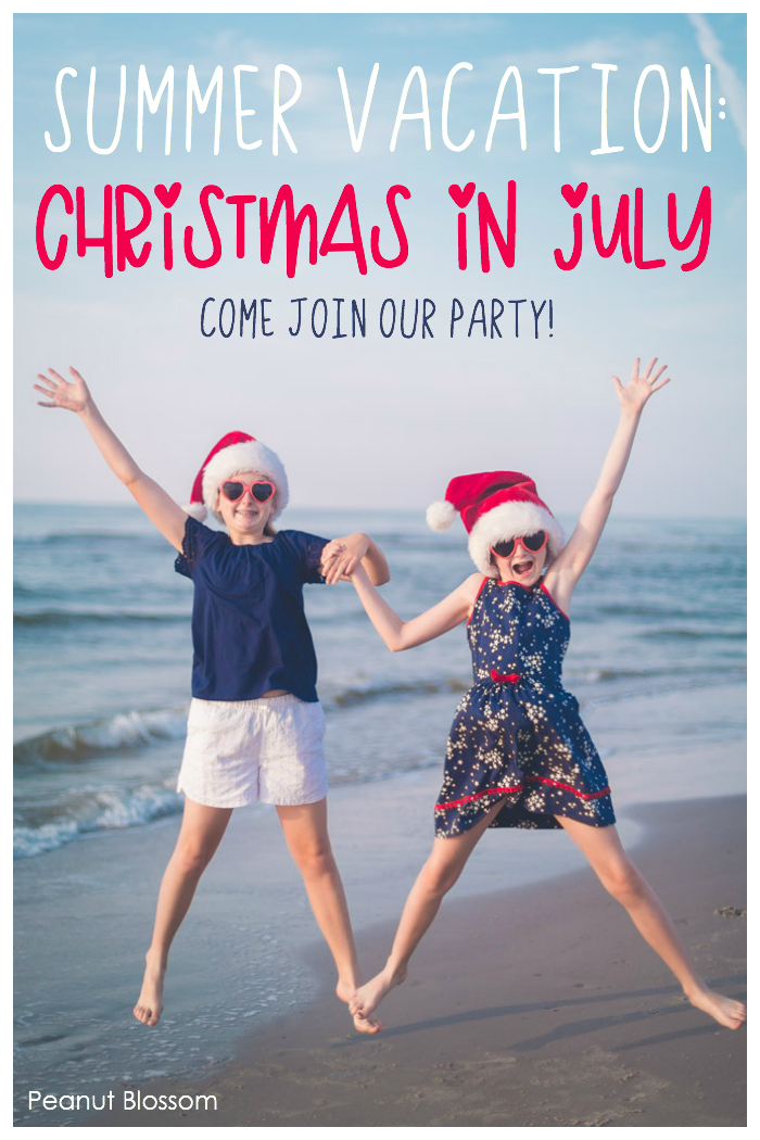 Come join the best summer vacation party ever: Host a Christmas in July party with your kids