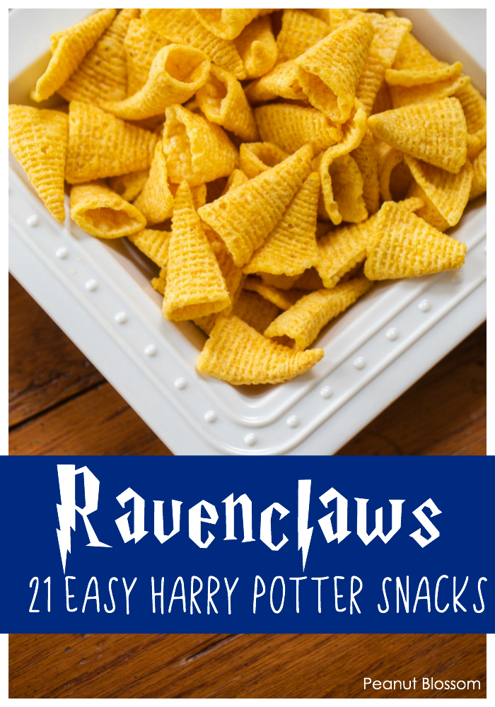 Ravenclaws: 1 of 21 super easy Harry Potter snacks for the best Harry Potter party ever.