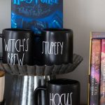 Can't find it in stores? How to make a DIY Rae Dunn Halloween display