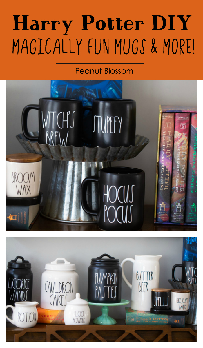 Harry Potter DIY: Magically fun mugs & more inspired by Rae Dunn