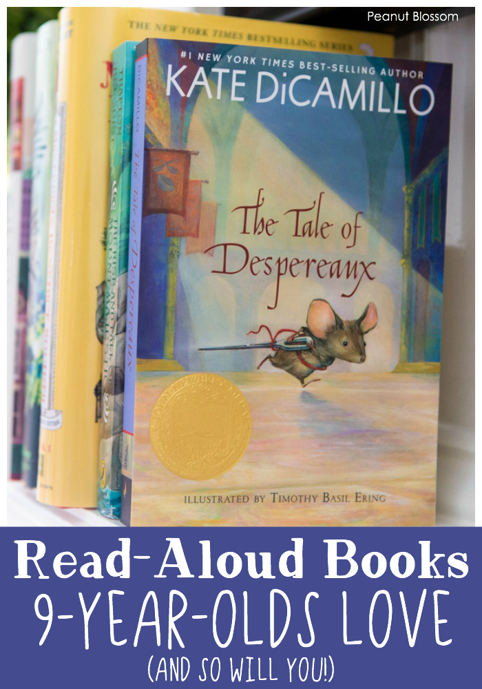 Read aloud books your 9 year old will love (and so will you!)