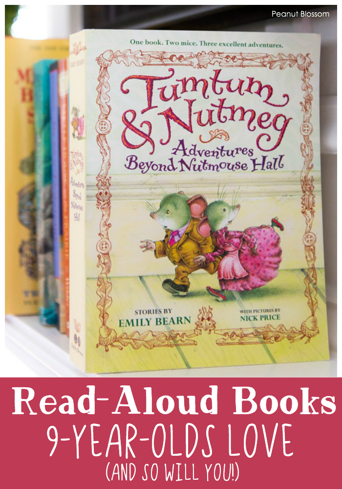 Tumtum & Nutmeg is one of several Read-Aloud Books 9 year olds love (and you will too!)
