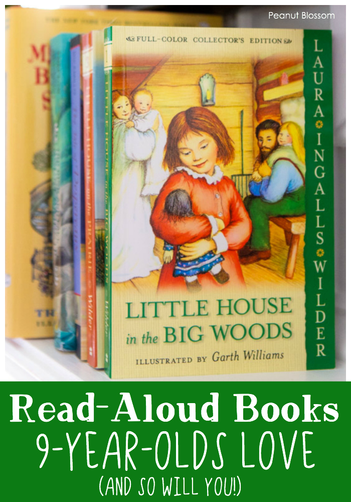 Little House in the Big Woods is one of several read aloud books 9 year olds will love (and so will you)